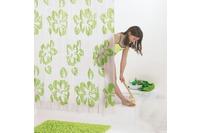 GRUND Duschvorhang FIORI grün