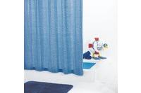 GRUND Duschvorhang GOCCE blau