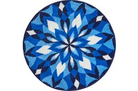 GRUND JOYA Badteppich Blau