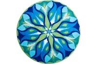 GRUND Mandala STILLES LICHT blau-grün