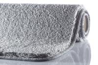GRUND MELANGE Badteppich Silber