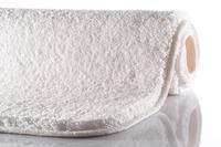 GRUND MELANGE Badteppich Weiß