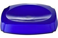 GRUND Seifenablage NEON, blau 14,4x10,4x3 cm