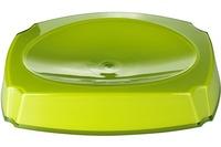 GRUND Seifenablage NEON, grün 14,4x10,4x3 cm