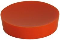 GRUND Seifenablage PICCOLO, orange 10,4x10,4x2,5 cm