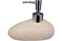 GRUND Seifenspender STONE sand 15x10x11 cm