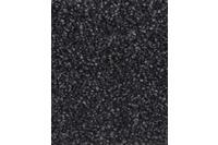 Hometrend PASTELLA Teppichboden, Hochflor Velours, schwarz