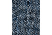ilima Teppichboden Schlinge BARDINO/ ROCKY blau meliert