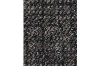 Hometrend ANEMONE/ REVUE Teppichboden, Schlinge gemustert, grau-Schwarz
