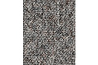 Hometrend FLORENTINA/ BUDDY Teppichboden, Schlinge, grau
