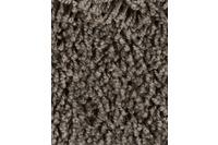 Hometrend CARLITA/ GREASE Teppichboden, Shaggy Hochflor, dunkelbraun