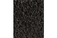 Hometrend CARLITA/ GREASE Teppichboden, Shaggy Hochflor, schwarz