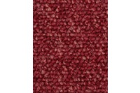 Hometrend ROPERO TR Teppichboden, Schlinge meliert, rot
