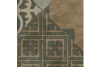 ilima Vinylboden PVC Fliesenoptik Retro diagonal grau beige