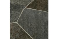 ilima Vinylboden PVC Fliesenoptik Steinoptik dunkel-grau