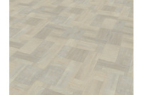 JAB Anstoetz LVT Designboden Blocked Wood White