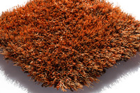 Kaiya Hochflor-Teppich Lago Mix Orange 63