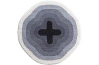 GRUND Badteppich KARIM RASHID Concept 03 096 grau