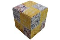 Kayoom Pouf Solitaire 310 Multi 42 cm (B) x 42 cm (H) x 45 cm (T)