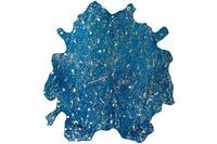 Kayoom Teppich Glam 410 Blau /  Gold