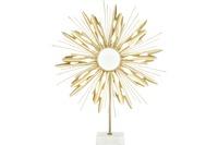 Kayoom Skulptur Ambriz 287 Gold /  Weiß