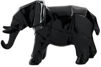 Kayoom Skulptur Elephant 120 Schwarz