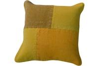 Kayoom Sofakissen Lyrical Pillow 110 Multi /  Gelb 45 x 45 cm