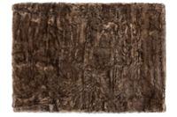 Kayoom Kunstfell-Teppich Crown 110 Braun