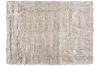 Kayoom Kunstfell-Teppich Crown 110 Weiß /  Braun
