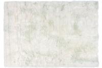 Kayoom Kunstfell-Teppich Crown 110 Weiß /  Puderblau