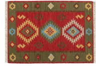 Kayoom Teppich Kilim de Luxe 125 Multi