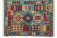 Kayoom Teppich Kilim de Luxe 135 Multi