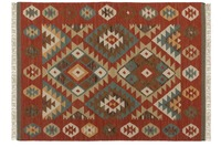 Kayoom Teppich Kilim de Luxe 185 Multi