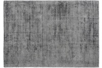 Kayoom Viskose-Teppich Luxury 110 Grau /  Anthrazit