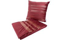 Kenda Sand Dekokissen & Decke Prisma 525 2er-Set Rot /  Gold