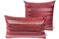 Kenda Sand Dekokissen Prisma 525 2er-Set Rot /  Gold