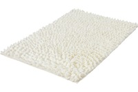Kleine Wolke Badteppich Falbala Weiß