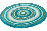 Kleine Wolke Badteppich Mandala, Türkis