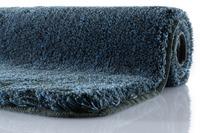 Kleine Wolke Badteppich, Relax, Iceblue, rutschhemmender Rücken, Öko-Tex zertifiziert
