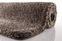 Kleine Wolke Badteppich Relax, Mahagoni, rutschhemmender Rücken, Öko-Tex zertifiziert