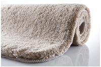 Kleine Wolke Badteppich Relax Taupe rutschhemmender Rücken Öko-Tex zertifiziert