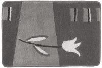 Kleine Wolke Badteppich Tulpa, Anthrazit
