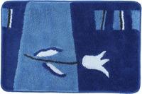Kleine Wolke Badteppich Tulpa, Royalblau
