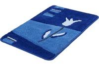 Kleine Wolke Badteppich Tulpa Royalblau
