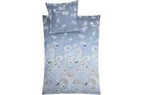 Kleine Wolke Bettwäsche Flora Blau