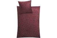 Kleine Wolke Bettwäsche Lisse Rot