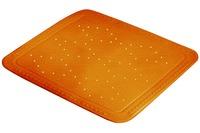 Kleine Wolke Duscheinlage Arosa, Orange 55x 55 cm