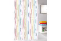 Kleine Wolke Duschvorhang Jolie Multicolor 120x200 cm