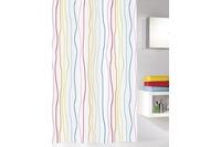 Kleine Wolke Duschvorhang Jolie, Multicolor 180 x 200 cm (Breite x Höhe)