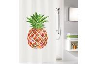 Kleine Wolke Duschvorhang Pineapple Multicolor 180 x 200 cm (Breite x Höhe)